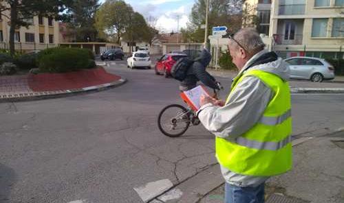 Photo comptage vélo